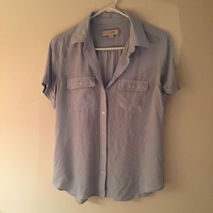 Short sleeves button down